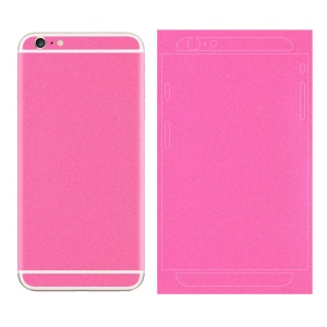 Matte Glittery Powder Back Decal Sticker Protector for iPhone 6 6s 4.7 inch - Rose