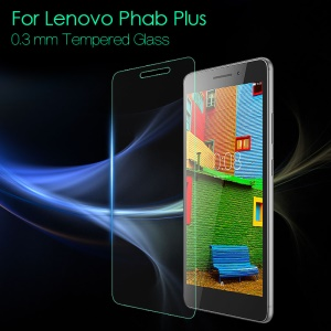0.3mm Tempered Glass Screen Protector Guard for Lenovo Phab Plus 6.8-inch
