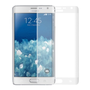 For Samsung Galaxy Note Edge N915 Complete Covering 9H Tempered Glass Screen Guard - Transparent