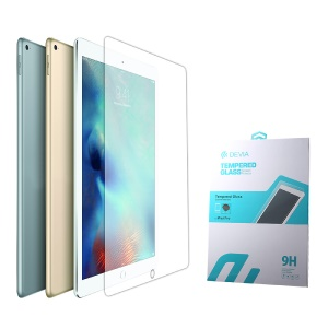 DEVIA for iPad Pro 12.9 inch 9H Tempered Glass Screen Protector 2.5D Arc Edge