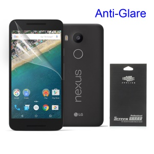 Frosted Anti-glare Screen Protection Film for LG Nexus 5X (Black Package)