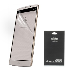 For LG V10 HD Clear Screen Protector Protective Film (With Black Package)