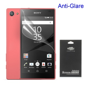 Anti-glare Matte Screen Film Protector for Sony Xperia Z5 Compact (Black Package)