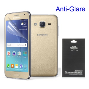 For Samsung Galaxy J2 SM-J200 Anti-glare Frosted Screen Cover Film (Black Package)