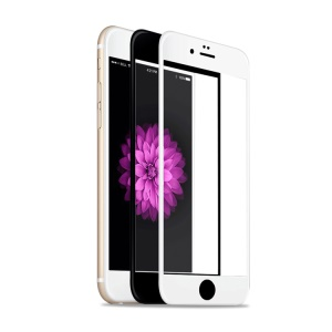 FEMA for iPhone 6 6s 0.3mm 2.5D Nano Tempered Glass Screen Protector Full Coverage - White