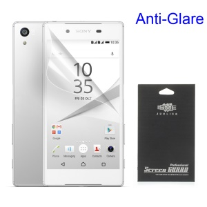 Matte Anti-glare LCD Screen Guard Film for Sony Xperia Z5 / Z5 Dual (With Black Package)