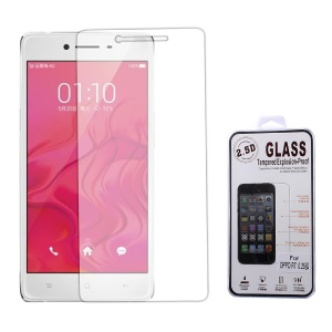 0.25mm Tempered Glass Screen Protector Shield Film for OPPO R7 Arc Edge