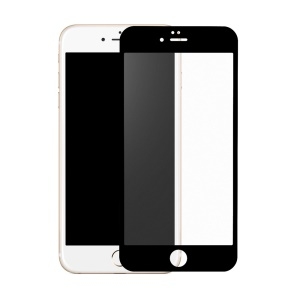 0.2mm Matte Tempered Glass Screen Protector for iPhone 6s 6 - Black