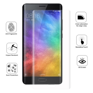 HAT PRINCE Cobertura completa Plated 3D Arc Edge 0.1mm Soft Protective Films para Xiaomi Mi Note 2