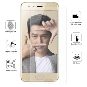 HAT PRINCE Cobertura completa Plated 3D Arc Edge 0.1mm Soft Protective Films para Huawei Honra 9