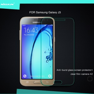 NILLKIN Amazing H for Samsung Galaxy J3 Tempered Glass Screen Guard Anti-Explosion