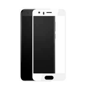 BASEUS for Huawei Honor 9 3D Arc Edges Soft PET Full Screen Tempered Glass Protector Skin Film - White
