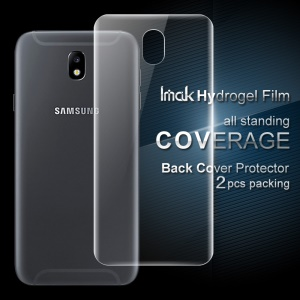IMAK 2Pcs Soft Hydrogel Back Cover Protector Film for Samsung Galaxy J5 (2017) EU Version/J5 Pro