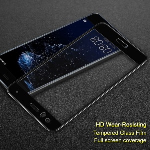 IMAK HD Full Coverage Anti-explosion Tempered Glass Screen Protector for Huawei P10 Lite - Black