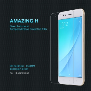 NILLKIN Amazing H Tempered Glass Screen Protector Anti-Explosion for Xiaomi Mi A1 / 5X