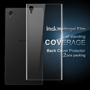 IMAK 2Pcs Packing Back Soft Hydrogel Protector Film for Sony Xperia L1