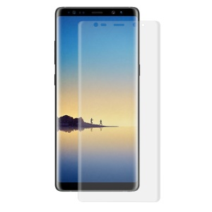 HAT PRINCE Ultra Clear PET Curved Full Coverage Screen Protector Film for Samsung Galaxy Note 8
