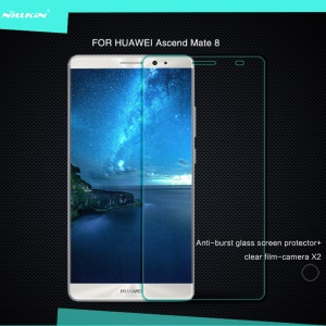 NILLKIN Amazing H for Huawei Mate 8 Nano Tempered Glass Screen Film Anti-Explosion 0.33mm