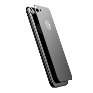 BASEUS Matte 0.33mm 3D Tempered Glass Back Protector for iPhone 7 4.7 inch - Black