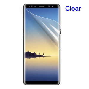 HD Clear LCD Screen Protector Pellicola per Samsung Galaxy Note 8 SM-N950 (Nero Pacchetto)