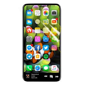 For iPhone X 5.8-inch HD Clear Full Screen Coverage Protector Film (Black Package)