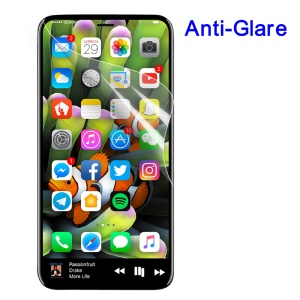 For iPhone XS / X 5.8 inch Matte Anti-glare LCD Screen Protector Film (Black Package)