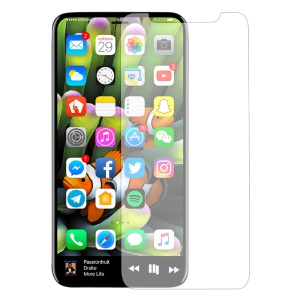 For iPhone XS / X 5.8-inch 2.5D Tempered Glass Screen Protector Film Arc Edge