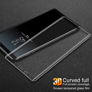 IMAK 3D Curved Full Size Mobile Tempered Glass Screen Protector for Samsung Galaxy Note 8 N950 - Transparent