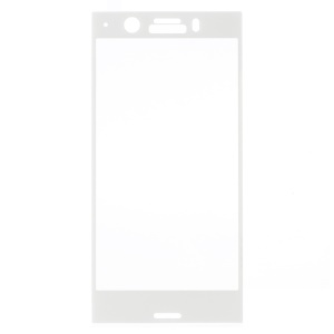3D Tempered Glass Full Size Screen Coverage Protector Film para Sony Xperia XZ1 Compact - branco