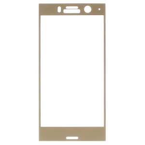 3D Tempered Glass Full Coverage Screen Protector Film for Sony Xperia XZ1 Compact - Gold