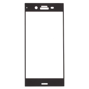 3D Full Size Tempered Glass Screen Protector for Sony Xperia XZ1 - Black
