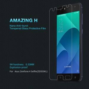 NILLKIN Amazing H Anti-Explosion Tempered Glass Screen Protector for Asus Zenfone 4 Selfie ZD553KL