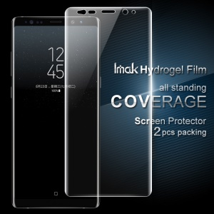 IMAK 2Pcs Soft Hydrogel Full Screen Protector Films pour Samsung Galaxy Note 8 N950