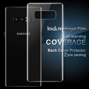 IMAK 2Pcs Soft Hydrogel Back Protector Films para Samsung Galaxy Note 8 N950