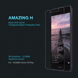 NILLKIN Amazing H Anti-explosion Tempered Glass Screen Guard Film for Huawei Honor 6C Pro / V9 Play