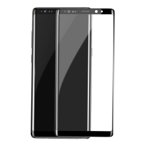 BASEUS 0.3mm 3D Curved Full Screen Tempered Glass Protector for Samsung Galaxy Note 8 SM-N950 - Black