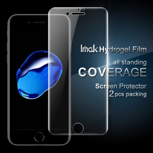 IMAK 2PCS Packing for iPhone 8 / 7 Soft Hydrogel Full Screen Protector Film