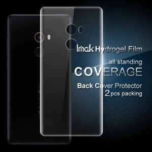 IMAK 2PCS Soft Hydrogel Back Protector Guard Films para Xiaomi Mi Mix 2