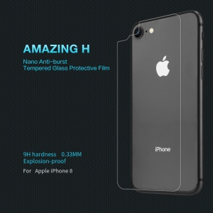 NILLKIN Amazing H Anti-burst Back Tempered Glass Protector Film for iPhone 8 4.7 inch