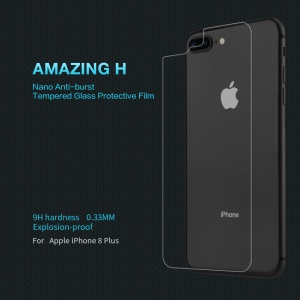 NILLKIN Amazing H Anti-explosion Back Tempered Glass Guard Film for iPhone 8 Plus 5.5 inch