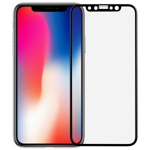 MOMAX 0.3mm 3D Full Cover Anti-explosion Tempered Glass Guard Film for iPhone X/Xs 5.8 inch - Black