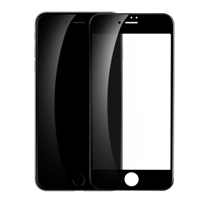 BASEUS for iPhone 8 Plus/7 Plus 5.5 inch Full Glue 3D Curved Soft PET Full Screen Tempered Glass Protector Film 0.23mm - Black