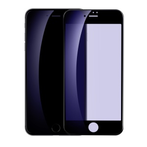 BASEUS Anti-blue-ray Soft PET Full Coverage Full Glue Tempered Glass Screen Protector for iPhone 8/7 4.7 inch - Black