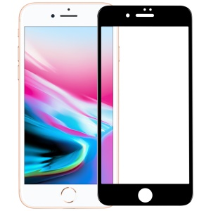MOMAX 0.2mm Full Cover Anti-explosion Tempered Glass Protector Film for iPhone 8 Plus / 7 Plus - Black