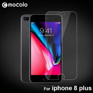 MOCOLO Full Glue Tempered Glass Screen Protector 2.5D Arc Edge for iPhone 8 Plus / 7 Plus