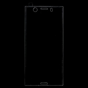 Complete Coverage Tempered Glass Screen Guard Film for Sony Xperia XZ1 Compact - Transparent