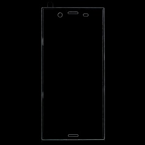 Full Coverage Tempered Glass Screen Protector for Sony Xperia XZ1 - Transparent
