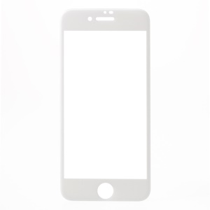 RURIHAI Solid Defense 4D Curved Anti-blue-ray Full Tempered Glass Screen Protector Film for iPhone 8/7 - White