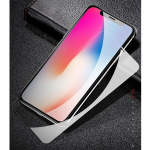 USAMS for iPhone X (Ten) 0.15mm Thin Clear Full Cover Tempered Glass Screen Protector 9H Guard