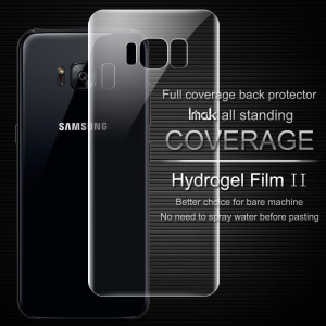IMAK Soft Clearer Hydrogel Film II Full Cover Back Protector for Samsung Galaxy S8 Plus G955